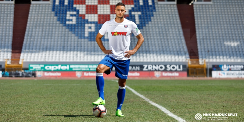 Bassel Jradi is a new Hajduk player!