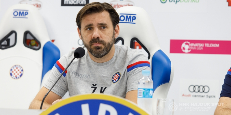Trener Kopić uoči utakmice Rijeka - Hajduk