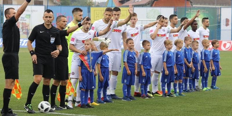 Koprivnica: Slaven B. - Hajduk 1:1