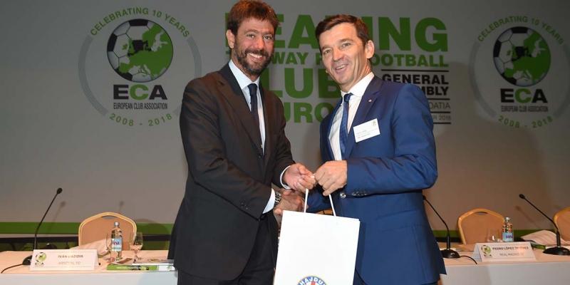 Predsjednik Huljaj uručio poklone vodstvu ECA-e