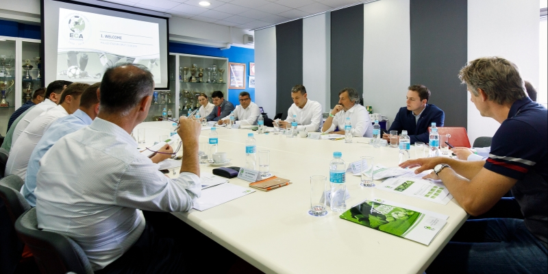 ECA u Splitu: ''Čast nam je da možemo učiti od Hajduka, kluba s dugom tradicijom omladinske škole!''