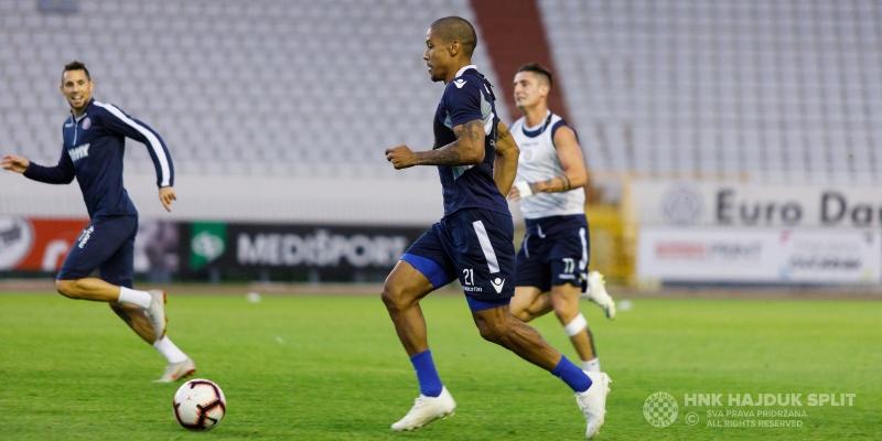 Hajdukovci se pripremaju za dvoboj s Osijekom