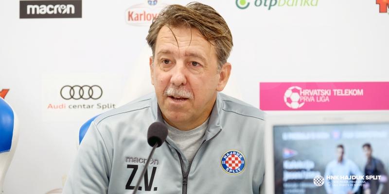 Trener Vulić: Svakom protivniku moramo dati do znanja da dolazi na Poljud!