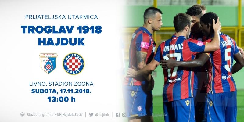 Prijateljska utakmica u Livnu: Bijeli igraju s NK Troglav 1918