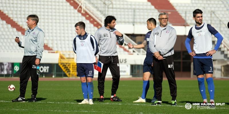 Bijeli odradili posljednji trening na Poljudu uoči dvoboja s Interom