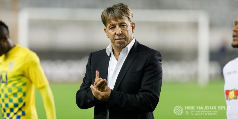 Trener Vulić nakon utakmice Hajduk - Inter Zaprešić