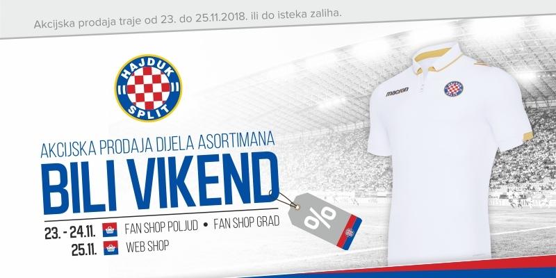 Bili vikend ponovno u Hajdukovim Fan shopovima!