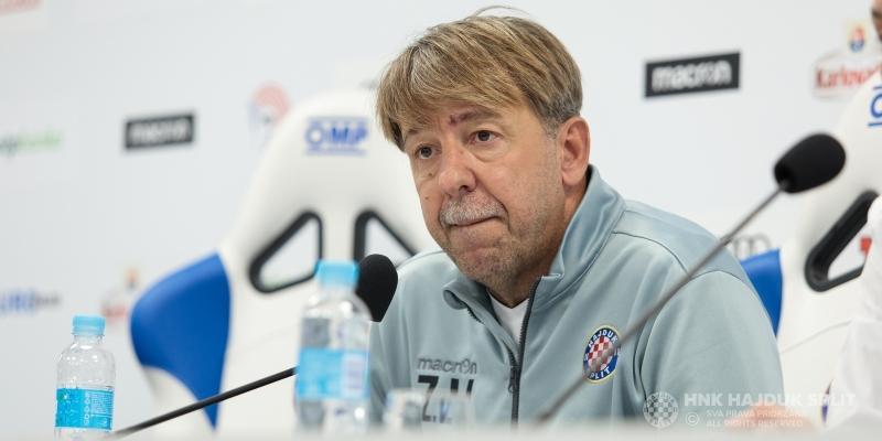 Trener Vulić uoči utakmice Hajduk - Slaven Belupo