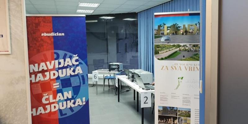 Izbori za Nadzorni odbor Hajduka: Do 11 sati 2000 članova pristupilo glasanju