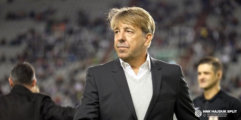 Zoran Vulić no longer Hajduk coach, Siniša Oreščanin takes over
