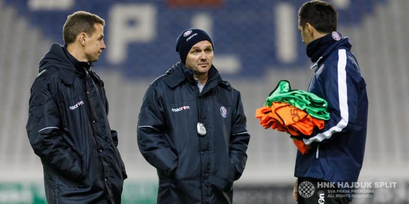 Bijeli odradili prvi trening pod vodstvom trenera Oreščanina