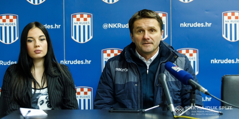 Coach Oreščanin after the victory against Rudeš
