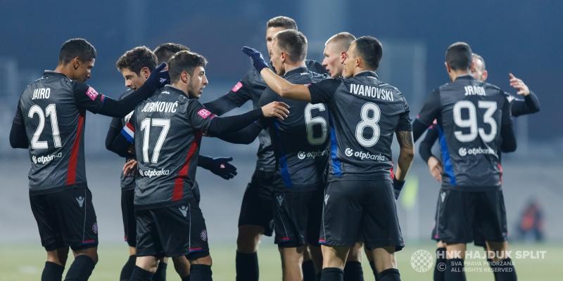 Zagreb: Rudeš - Hajduk 1:4