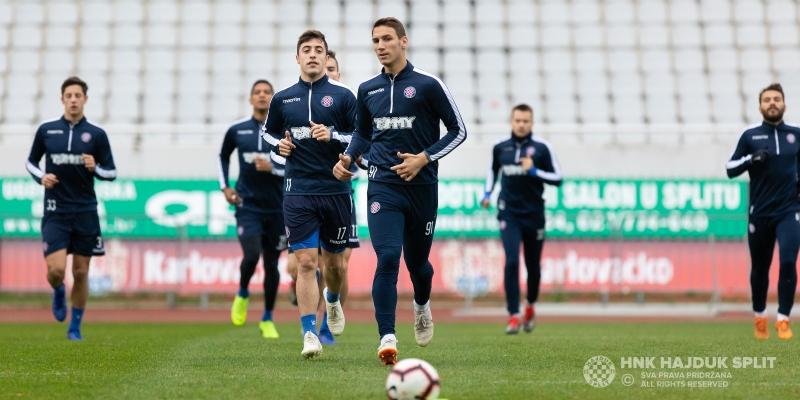 Pre-match training ahead of Osijek