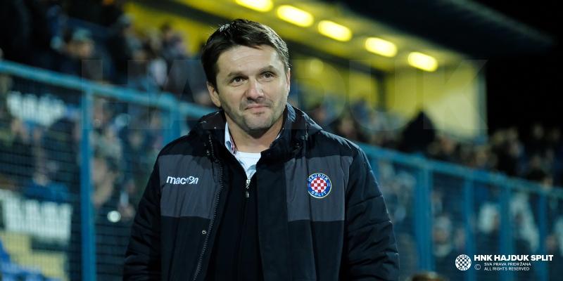 Coach Oreščanin after Osijek - Hajduk