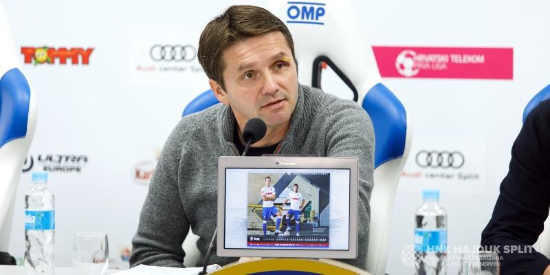 Trener Oreščanin uoči utakmice Dinamo - Hajduk