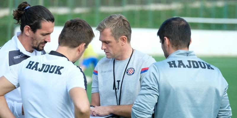 Tolić: Igrači su opravdali povjerenje i zaslužuju i dalje ostati u Hajduku