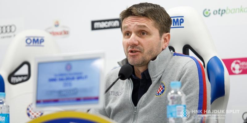 Coach Oreščanin's press conference ahead of winter training camp