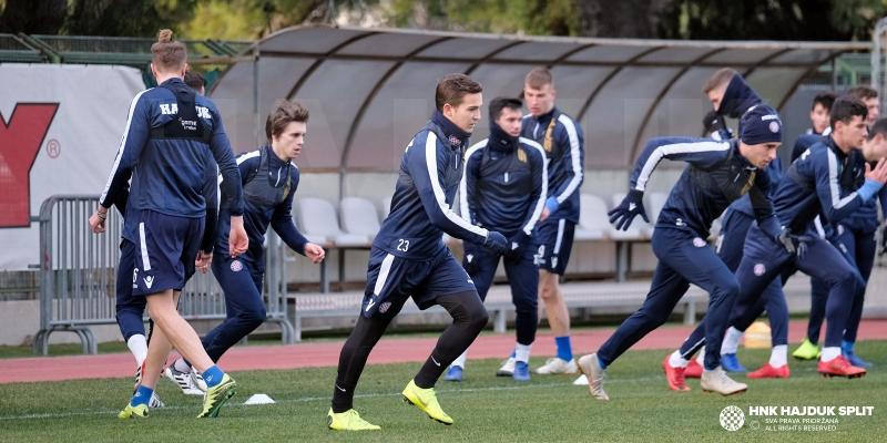 Hajduk II započeo s pripremama za nastavak sezone