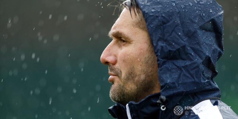 Kišni trening u Beleku