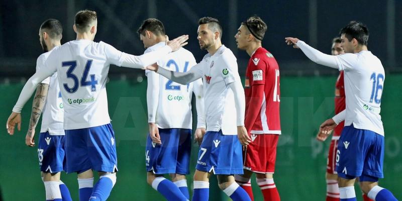 Najzanimljiviji trenuci utakmice Dinamo Bukurešt - Hajduk