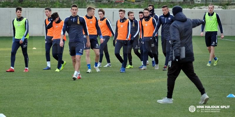 Hajduk II radi na Poljudu, nekoliko igrača stiglo na probu