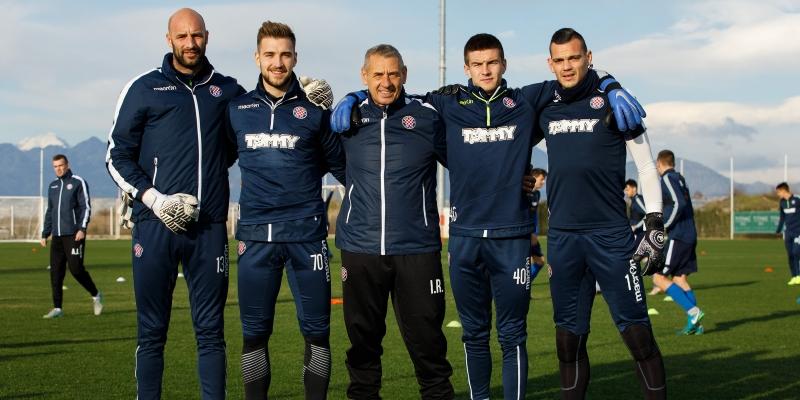 Pripreme Hajdukove vratarske četvorke i trening Bijelih sedmog dana u Beleku