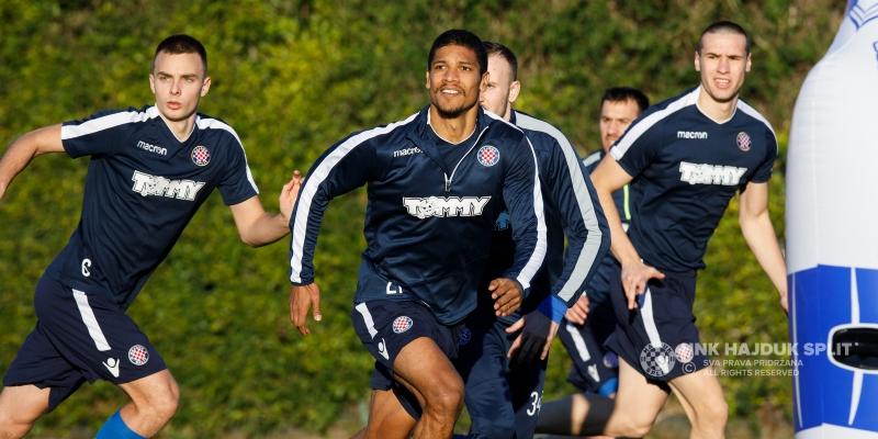 Hajdukovci odradili posljednji trening uoči pripremne utakmice s Grasshopperom