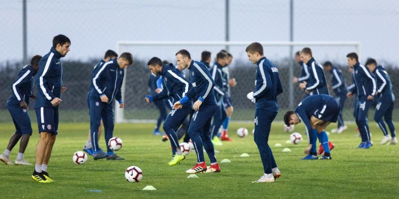 Hajdukovci dva puta trenirali uoči pripremnog dvoboja sa Šahtarom iz Donjecka