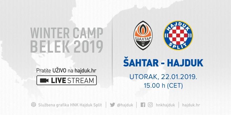 Hajduk drugi put protiv Šahtara: Nakon prvog dvoboja stigla čestitka iz svemira...