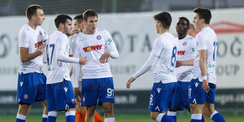 Belek: Hajduk uvjerljivo svladao Šahtar iz Donjecka