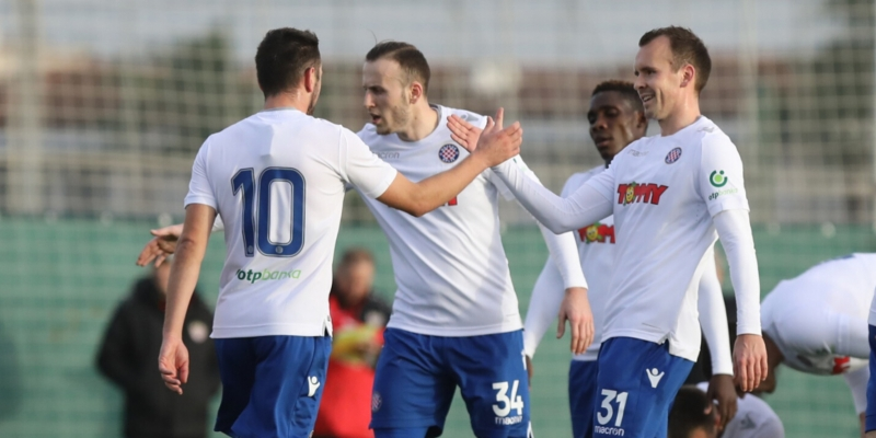 Belek: Hajduk ended the training camp in Turkey with a draw against Shakhtyor Soligorsk