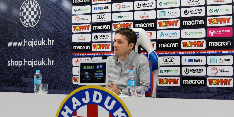Trener Oreščanin uoči utakmice Osijek - Hajduk