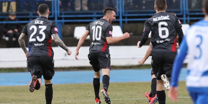 Osijek: Osijek - Hajduk 0:1