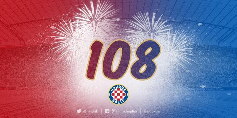 Happy 108th birthday, Hajduk!