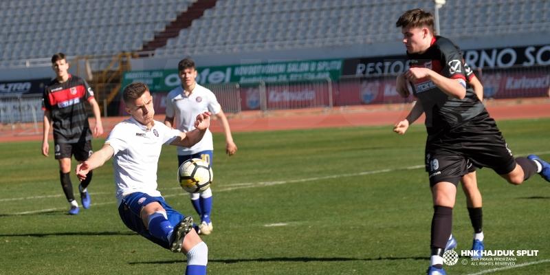Juniori Hajduka uvjerljivi protiv Sesveta