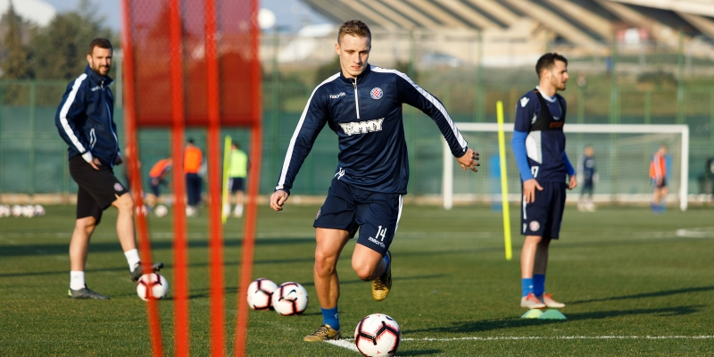 Hajduk preparing for the match against Gorica