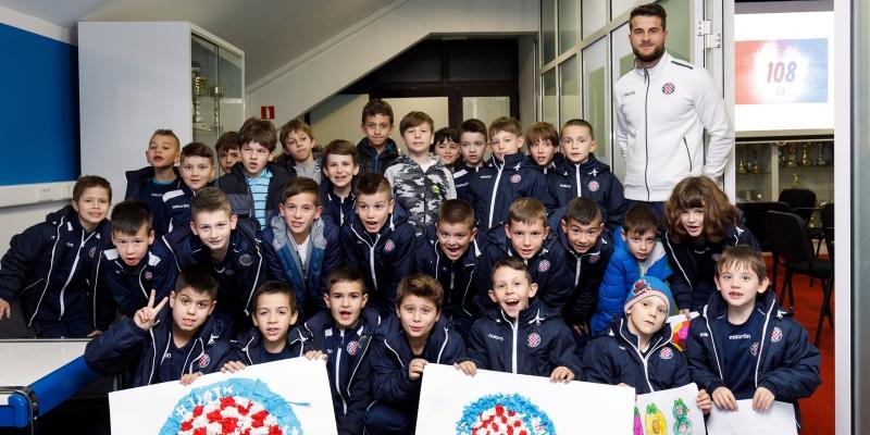 Simboli našeg Hajduka: Polaznici Otvorene škole sudjelovali u prvoj kreativnoj radionici