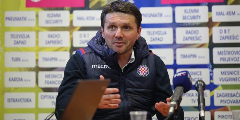 Trener Oreščanin nakon Inter Zaprešić - Hajduk