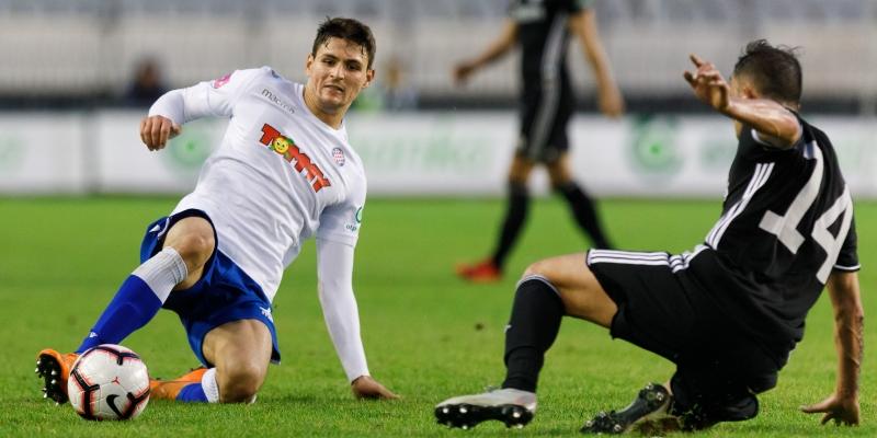 Hajduk in Koprivnica on Saturday