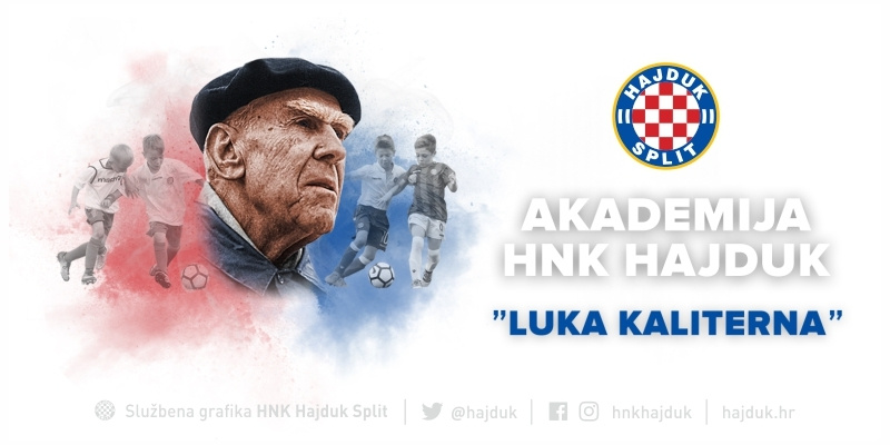 One hunders years of Hajduk's Youth Academy: It will be named after Luka Kaliterna!