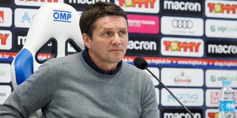 Coach Oreščanin ahead of Slaven Belupo - Hajduk