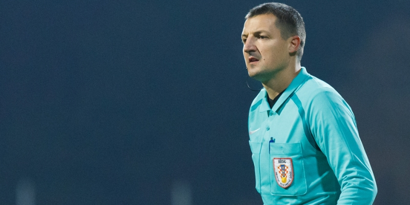 Matoc appointed match referee for Hajduk - Rudeš