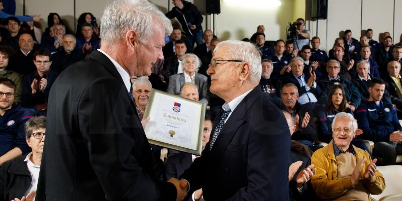 Uručena priznanja zaslužnim bivšim i sadašnjim djelatnicima kluba koji su djelovali u Akademiji
