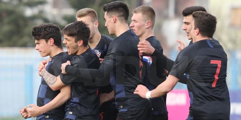 Blagaić scored for Croatia U-19 against Germany U-19