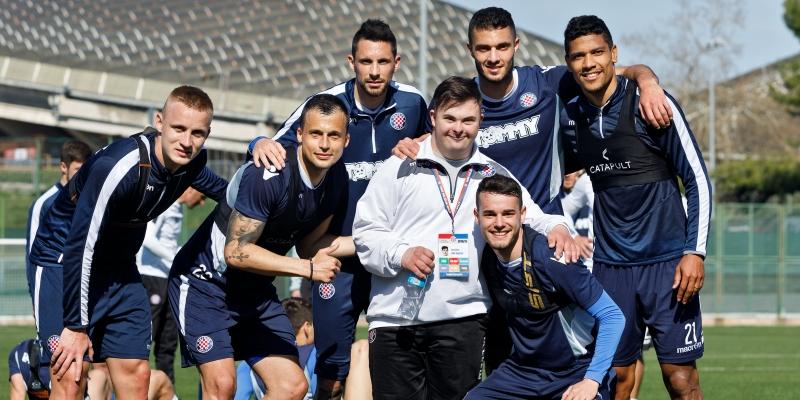 Luka Bučević s trenerom Oreščaninom vodio trening prve momčadi