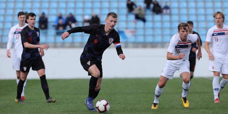 Palaversa scored for Croatia U-19 vs Norway U-19