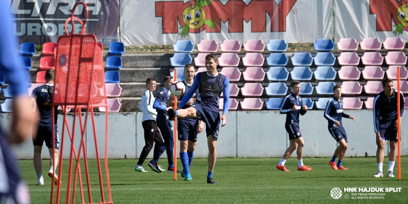 Preparation for the match against Istra 1961