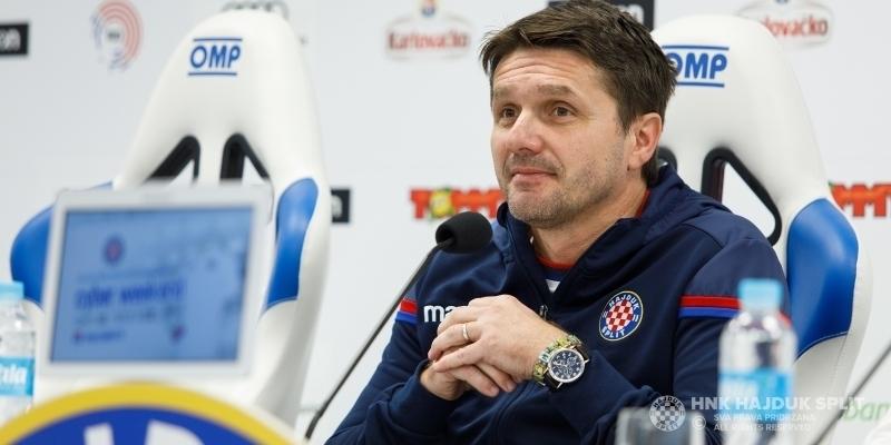 Coach Oreščanin ahead of Hajduk - Osijek