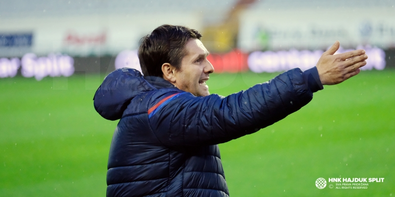 Trener Oreščanin nakon utakmice Hajduk - Osijek